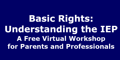 ​Basic Rights: Understanding the IEP