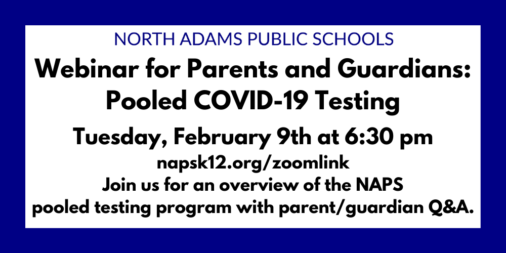 Webinar for Parents and Guardians: Pooled COVID-19 Testing