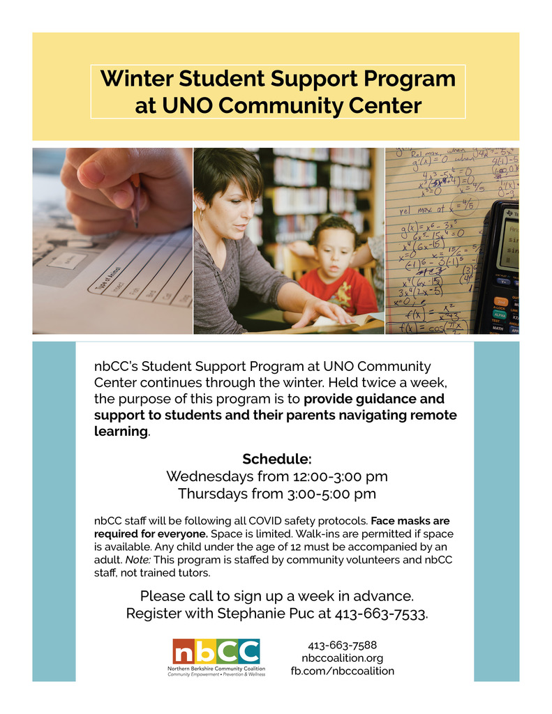 UNO Tutoring Flyer